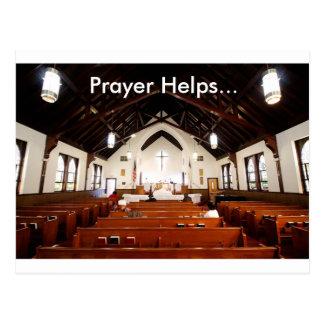 Het gebed helpt Briefkaart