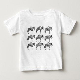 het gebed van de pakmuilezel baby t shirts