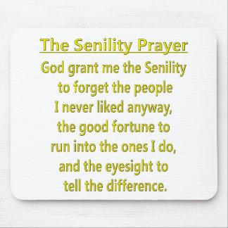Het Gebed van de seniliteit Muismat