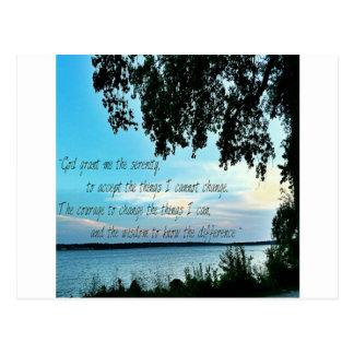 Het gebed van de Sereniteit Briefkaart
