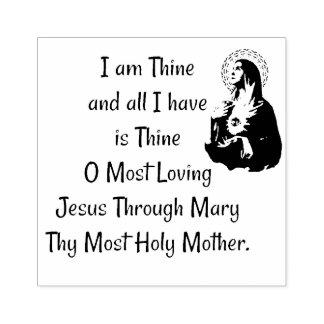 Het Gebed van de wijding aan Jesus door Mary Rubberstempel