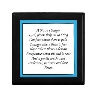 Het Gebed van een Verpleegster Decoratiedoosje