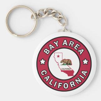 Het Gebied Californië van de baai keychain Sleutelhanger