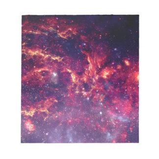 Het Gebied van de ster in Diepe Ruimte Kladblok