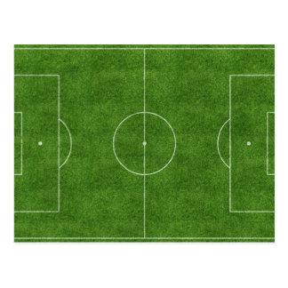 Het Gebied van het voetbal/van het Football Briefkaart