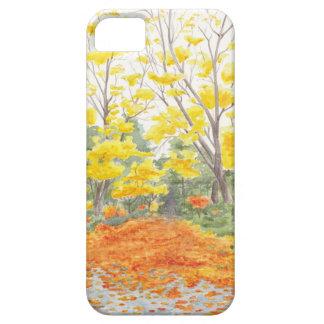 Het Gebladerte van de herfst in Adlershof Barely There iPhone 5 Hoesje