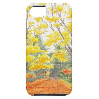 Het Gebladerte van de herfst in Adlershof Tough iPhone 5 Hoesje