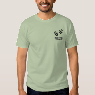 Het Geborduurde Overhemd van de massage Therapeut