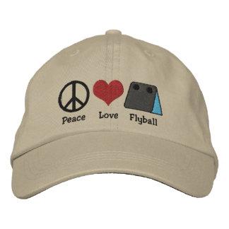 Het Geborduurde Pet van de Liefde van de vrede