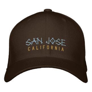 Het Geborduurde Pet van San Jose Californië op