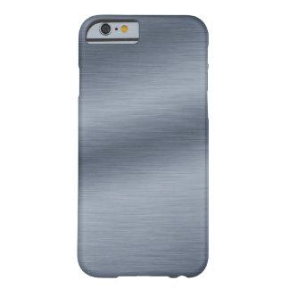 Het geborstelde Staal kijkt Elegante iPhone 6 Barely There iPhone 6 Hoesje
