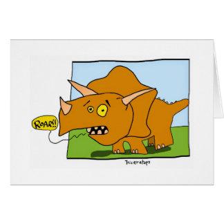 Het Gebrul van de dinosaurus! Briefkaarten 0