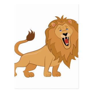 Het Gebrul van de leeuw Briefkaart