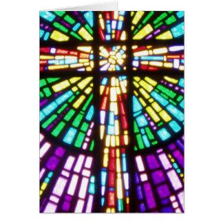 Het gedeeltelijke kruis van Mosiac Briefkaarten 0