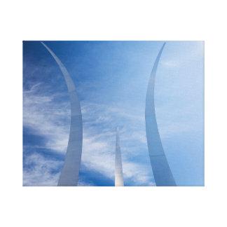 Het Gedenkteken van de Luchtmacht Canvas Afdrukken
