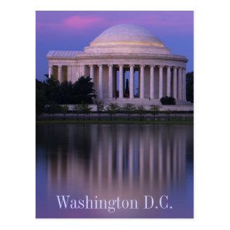 Het Gedenkteken van Jefferson Briefkaart