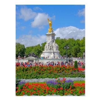 Het Gedenkteken van Victoria, Buckingham Palace, Briefkaart