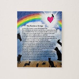 Het Gedicht van de Brug van de regenboog Legpuzzel