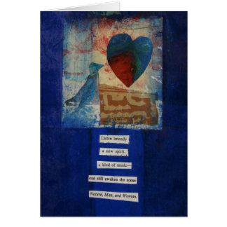 Het Gedicht van de Liefde van Dada Kaart