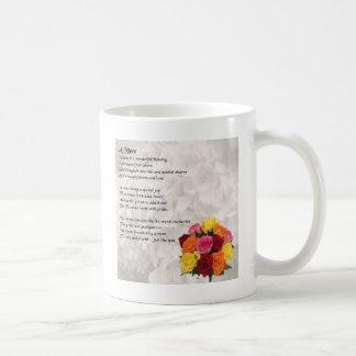 Het Gedicht van de nicht - Bloemen Koffiemok