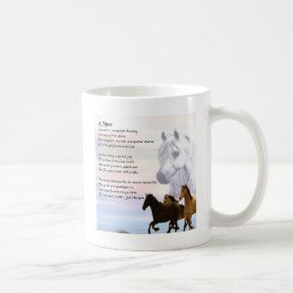 Het Gedicht van de nicht - Paarden Koffiemok