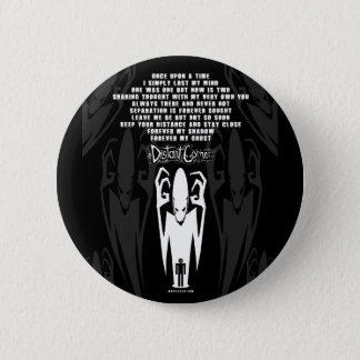 Het Gedicht van de schaduw Ronde Button 5,7 Cm