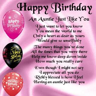 Voor Verjaardag Tante Cadeaus Zazzle Nl