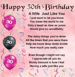30ste Verjaardag Notitieblokken Zazzle Nl