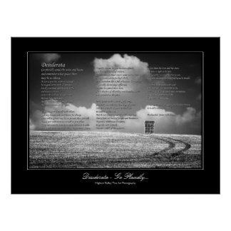 Het Gedicht van wensen - ga Placidly Poster