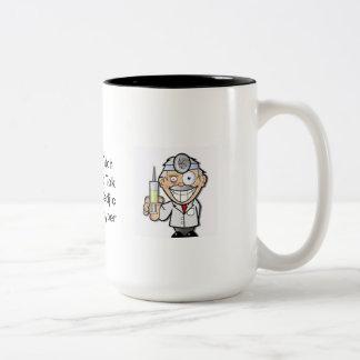 Het Geestelijke Asiel van de drie Lentes Tweekleurige Koffiemok