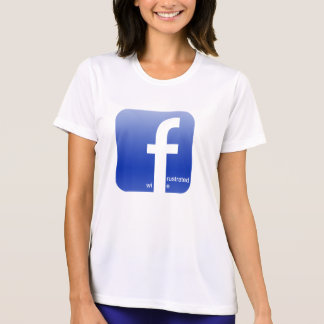 Het gefrustreerde Dolkomische Logo van Facebook T Shirt