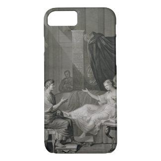 Het gegraveerde Gesprek van Augustus en Cleopatra, iPhone 7 Hoesje