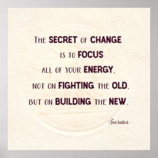 Het geheim van Verandering Poster