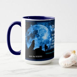 Het gehuil van wolven bij volle maan, met Mayan Mok