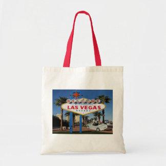 Het GEHUWDE ENKEL Canvas tas van Las Vegas van de