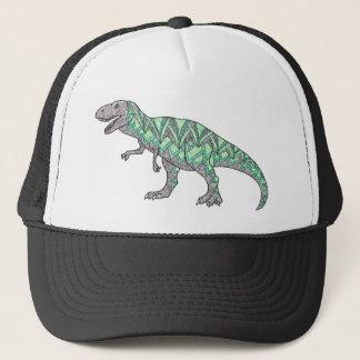 Het Geïllustreerde Art. van de Dinosaurus t-Rex Trucker Pet