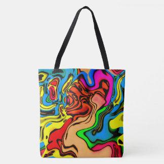 Het gekke Canvas tas van Kleuren