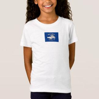 het gekke korte sleeve van de Meisjes van de groef T Shirt