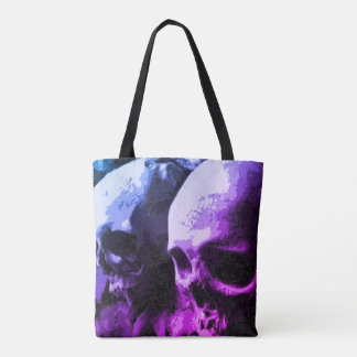 Het gekleurde Canvas tas van Schedels