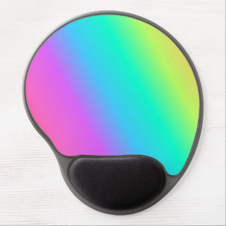 Het Gel Mousepad van de Regenboog van de