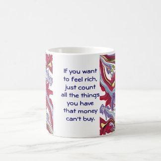 het geld kan niet kopen koffiemok
