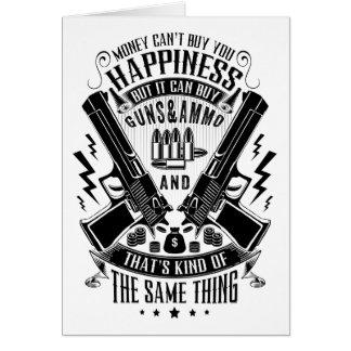 Het geld kan u Geluk maar geen Guns&Ammo kopen Kaart