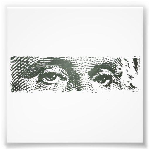 Het Geld van het Contante geld van de Rekening van Foto Print