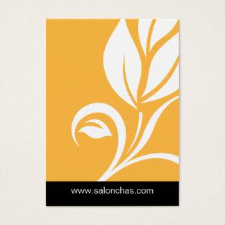 Het gele Certificaat van de Kaart van de Gift van Visitekaartjes