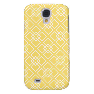 Het gele Geometrische Patroon van de Diamant