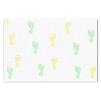 Het gele & Groene Papieren zakdoekje van de Tissuepapier