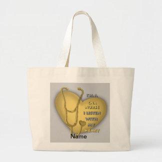 Het gele Hart KAN verzorgen Draagtassen