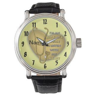 Het gele Hart van de Verpleegster van de Horloges
