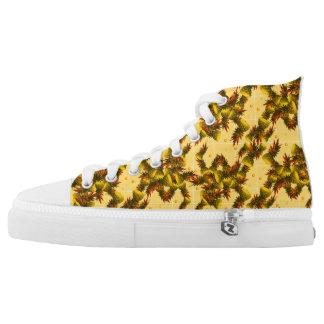 Het gele Hoge Topje van de Ananas High Top Schoenen