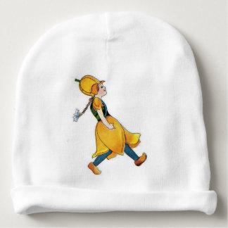 Het gele Meisje van het Kind van de Bloem van de Baby Mutsje